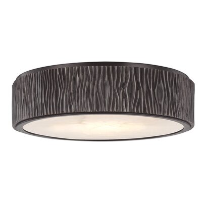 Repass 1-Light LED Flush Mount Finish: Old Bronze