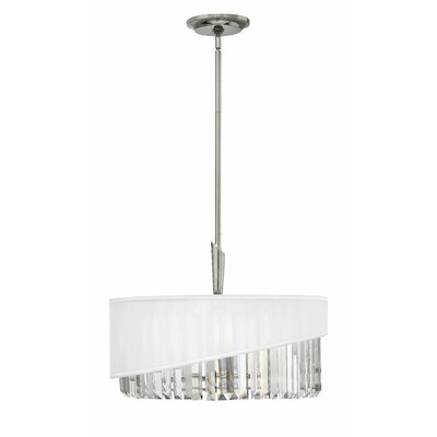 Retzlaff 3-Light Drum Pendant