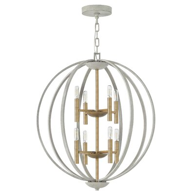 Kieran 8 Light Foyer Pendant