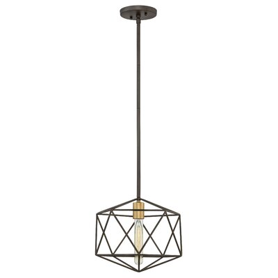 Rexdale 1-Light Mini Pendant Finish: Metallic Matte Bronze