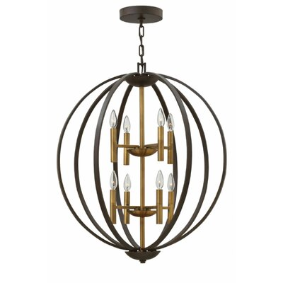 Kieran 8-Light Foyer Pendant