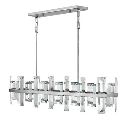 Reynosa 8-Light Kitchen Island Pendant Finish: Polished Nickel