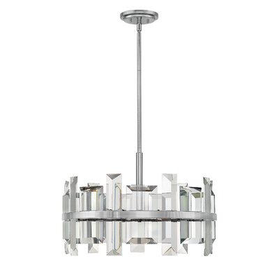 Reynosa 6-Light Pendant Finish: Polished Nickel