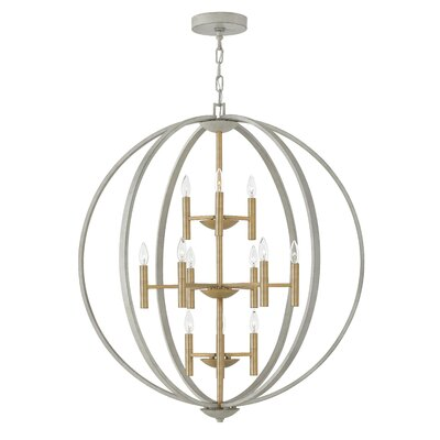 Kieran 12 Light Foyer Pendant
