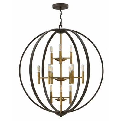 Kieran 12-Light Foyer Pendant