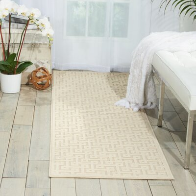 Beaconsfield Ivory Area Rug Rug Size: Runner 22 x 7