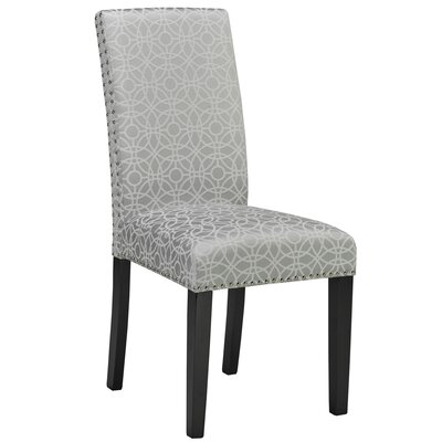Rhode Parsons Chair Color: Silver Pattern