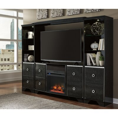 Ratcliff LG TV Stand with Electric Fireplace