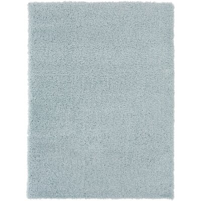 Roberto Pale Blue Area Rug Rug Size: Rectangle 53 x 73