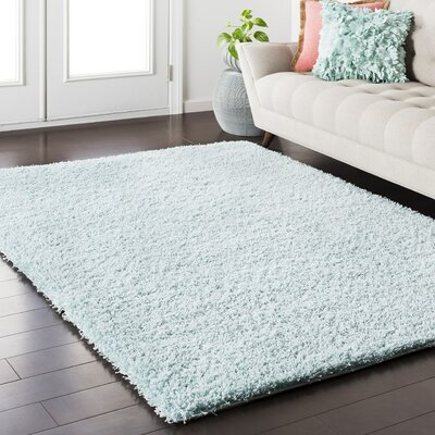 Roberto Pale Blue Area Rug Rug Size: Rectangle 67 x 96