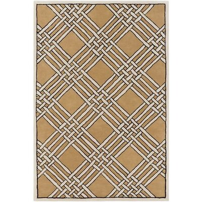 Intermezzo Hand-Tufted Geometric Area Rug Rug Size: 5 x 76