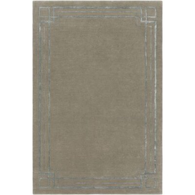 Intermezzo Hand-Tufted Border Area Rug Rug Size: 8 x 10