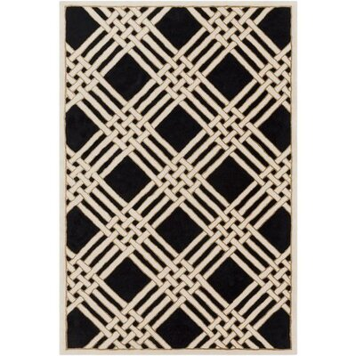 Rudnick Hand-Tufted Geometric Area Rug Rug Size: 8 x 10