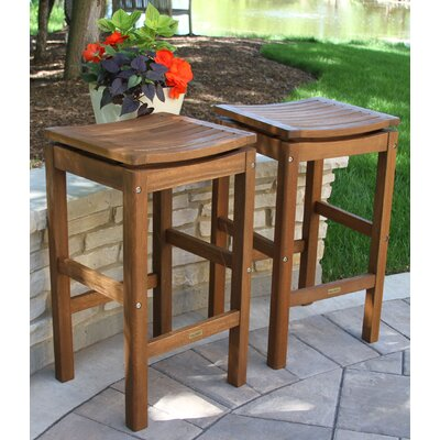 Willene Patio Pub Height Stool, 2pk.