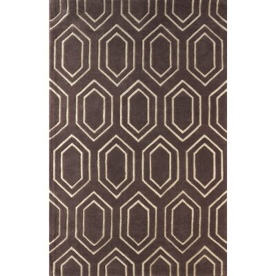 Graceland Hand Tufted Dark Iris Area Rug Rug Size: 5 x 8