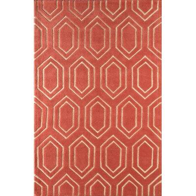 Graceland Hand-Tufted Sorbet Area Rug Rug Size: 5 x 8
