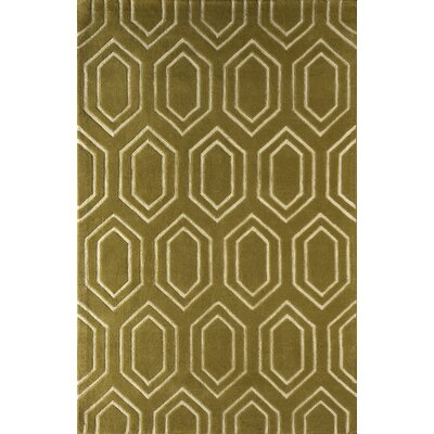 Graceland Hand-Tufted Pear Area Rug Rug Size: 4 x 6
