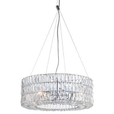 Kalie 1-Light LED Crystal Pendant