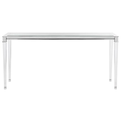 Raya Console Table Finish: Silver