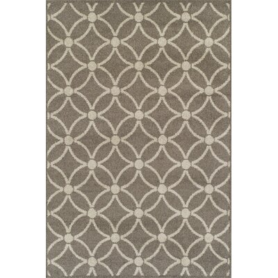 Dacey Brown/Tan Area Rug Rug Size: Rectangle 33 x 51