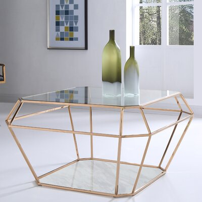 Jayleen Hexagon Coffee Table