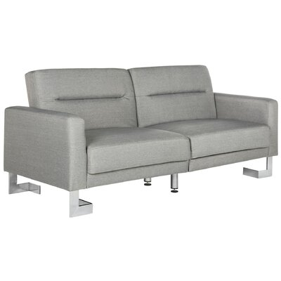 Beaumont Foldable Convertible Sofa Upholstery: Gray