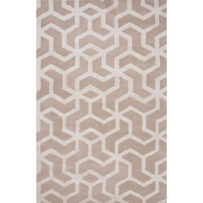 Hyde Ivory & White Area Rug Rug Size: 2 x 3