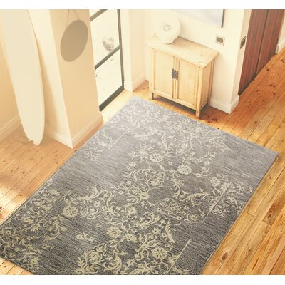 Hull Hand-Tufted Taupe Area Rug Size: 56 x 86