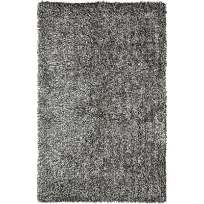 Delmon Platinum/Ivory Area Rug Rug Size: Rectangle 6 x 9