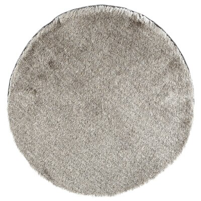 Cheevers Sable Area Rug Rug Size: Round 7'