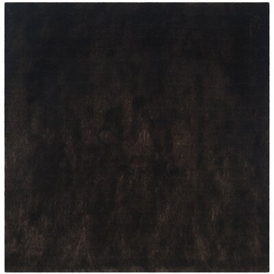 Stellan Flokati Chocolate Outdoor Area Rug Rug Size: Square 7