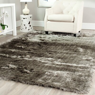 Cheevers Silver Area Rug Rug Size: Square 7