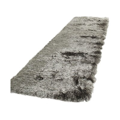 Cheevers Silver Area Rug Rug Size: Runner 23 x 8