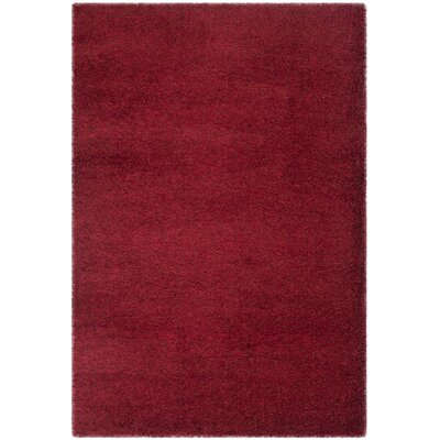 Davey Red Rug Rug Size: 51 x 76