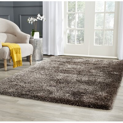 Maya Brown Rug Rug Size: Rectangle 4 x 6