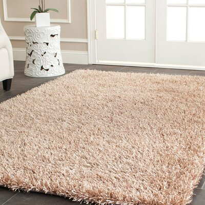 Maya Hand-Tufted Beige Area Rug Rug Size: Rectangle 3 x 5