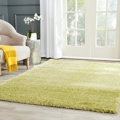 Davey Green Rug Rug Size: Rectangle 4 x 6
