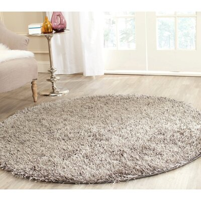 Cheevers Handmade Gray Area Rug Rug Size: Rectangle 5 x 8