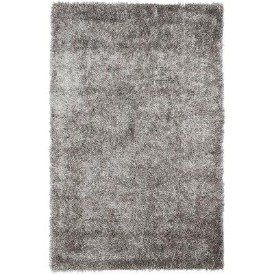 Cheevers Handmade Gray Area Rug Rug Size: 4 x 6
