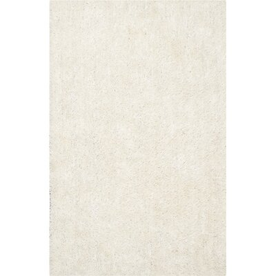 Maya Hand-Tufted/Hand-Hooked Off White Area Rug Rug Size: Rectangle 2 x 3