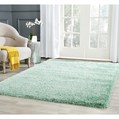 Davey Teal Rug Rug Size: Rectangle 8 x 10