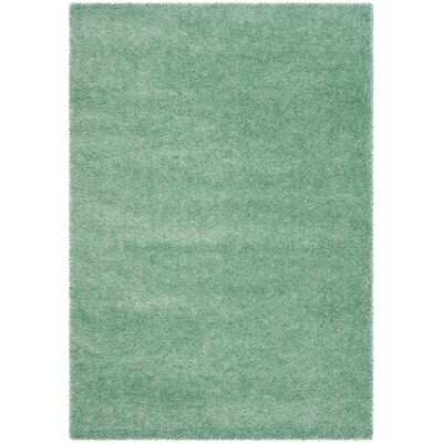 Davey Teal Rug Rug Size: Rectangle 51 x 76