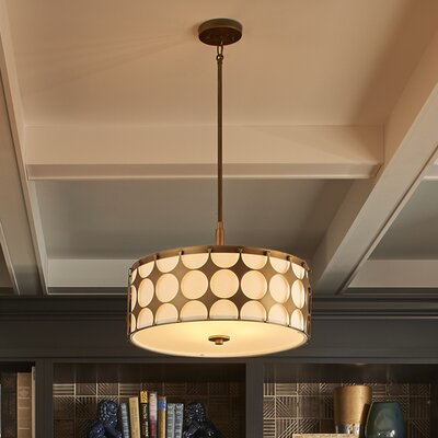 Christopherson 4-Light Drum Pendant