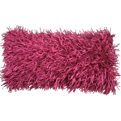 Leonard Lumbar Pillow Color: Fuchsia