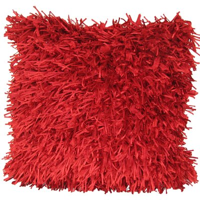 Leonard Throw Pillow Color: Red