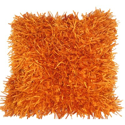 Leonard Throw Pillow Color: Orange