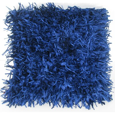Leonard Throw Pillow Color: Blue