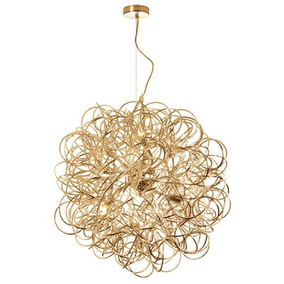 Bellard Baya 8-Light Pendant Finish: Gold