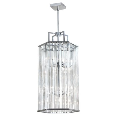 Lefferts 8-Light Foyer Pendant