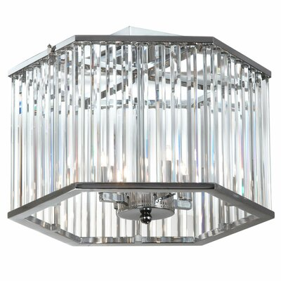 Jamison 4-Light Semi Flush Mount